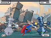 Play Justice league training academy superman Game