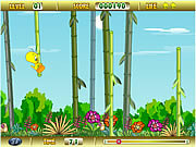 Tweety Bamboo Bounce game
