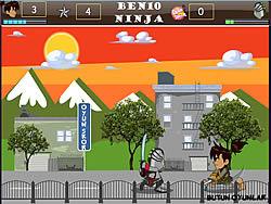Benjo Ninja game