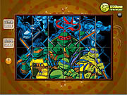 Spin N Set - Ninja Turtle game