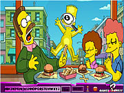 Play Hidden alphabets simpson Game