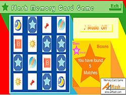 Flash Memory Card Game game