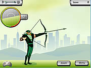 Play Justice league training academy green arrow Game