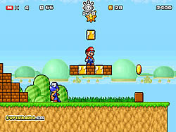 Super Mario Star Scramble 2 game