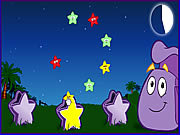Dora The Explorer - Star Catching game