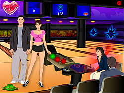 Bowling Kissing game