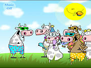 Watch free cartoon Funny Cows