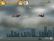 Play Ironman air combat Game