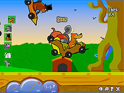 Rodent Road Rage game