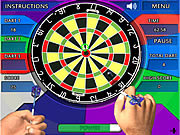 Crazy Darts game