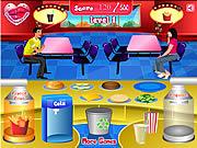 Play Burger shop Game