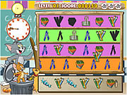 Tom and Jerry Classroom Clean Up game
