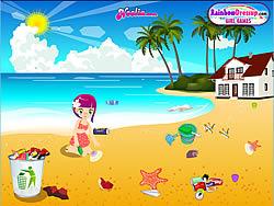 Summer Beach Clean-Up game