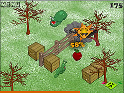 Mad Worms Intrusion game