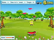 Permainan Spongebob Squarepants - Food Catcher
