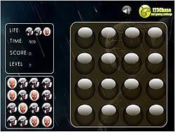 Memory Balls - Spiderman game