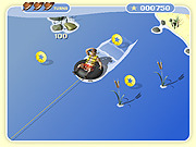 Tubin on Lake Tyler game