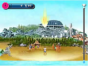 Beach Skills Soccer game