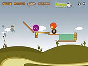 Alien Roll game