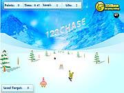 Play Spongebob squarepants snowboard rider Game