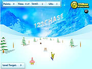 Spongebob Squarepants - Snowboard Rider game