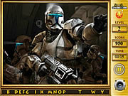 Star the Clone Wars - Find the Alphabets game