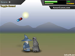 Angry Old Wizard game