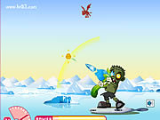 Play Zombie little and giant Game