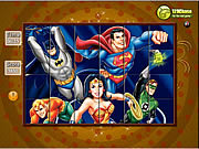 gra Spin n Set - Super Friends