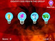 Identify Peculiar game
