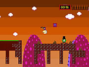 Play Leapy louie ground skeeper Game