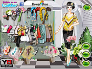 Flower Store Girl Dress Up