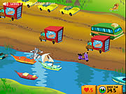 Play Tom and jerry cat crossing Game