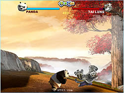 Kung Fu Panda Death Match game