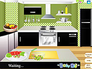 Play Healthy dish shrimp mango salad Game