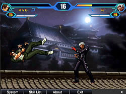 King Of Fighters Wing لعبة