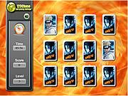 Naruto Memory Match game