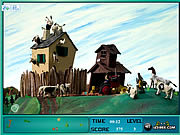 Play A town called panic hidden objects Game