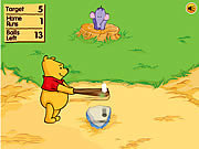 Winnie The Pooh's Home Run Derby game