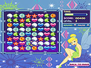 Tinkerbell's Jewel Jumble game