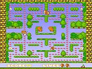 Monkey Pacman game