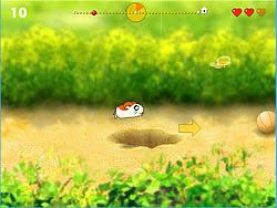 Running Hamster game