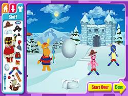 The Backyardigans Adventure Maker game