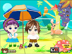 Anime Kids Dress Up game