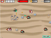 Spacemen vs Medieval Zombies game