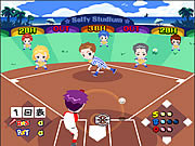 Cartoons Baseball game