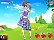 Play Cute fruit doll dress up Game