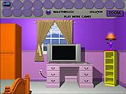 Purple Room Escape game