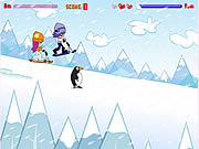 Play Hi hi puppy ami yumi snow scooter Game