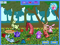 Cute Bunny Farm game